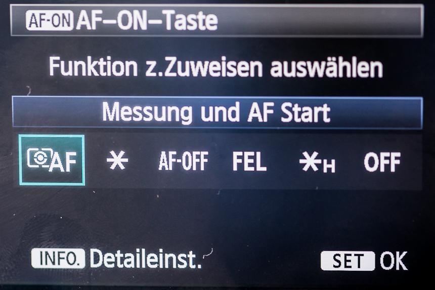 AI Servo plus AF ON-6